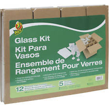 "Duck 1362685 Glass Protect Kit, 16"" x 12"" x 12"""