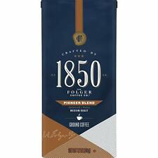 1850 Pioneer Blend, Medium Roast Ground Coffee, 12 Ounces DATE:  MARCH 2020