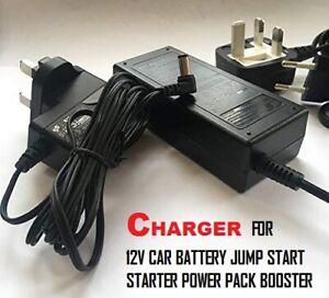 Charger for 12V Halfords/ Phaze 4 IN 1 Jump Starter, 594335, 12V/17Ah, 5.5*2.1