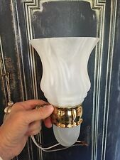 Ginger Chelsea Light Fixture Nuage Glass Polished Brass