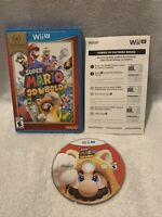 Super Mario 3D World Nintendo Wii U Game Complete With Manual, CIB, Tested!