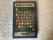 Vintage Tomy Row by Row Handheld Brain Teaser Puzzle Game - Made in Japan