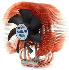 Zalman Computer Noise Prevention System with Silent Fan Pure Copper Heatsink New