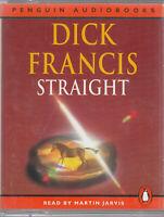 Dick Francis Straight 2 Cassette Audio Book Abridged Crime Thriller FASTPOST