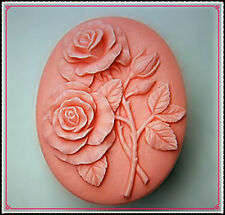 Rose Flower Flexible Silicone Moulds Cake Candle Soap Ice Molds