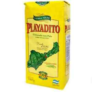Yerba Mate Playadito 1kg Argentine Yerba with Stems