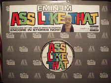 "EMINEM + DR. DRE - ASS LIKE THAT (12"")  2004!!!  RARE!!!  CLEAR VINYL!!!"