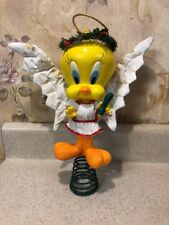 Rare vintage 1992 Warner Bros Tweety Bird Christmas Tree Topper 11.5""