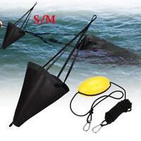 "Fishing Sea Anchor Drogue Kayak Canoe Boat Crusier Sea Brake Drift Sock 24""-53"""