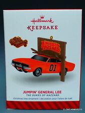 Jumpin' General Lee The Dukes of Hazzard 2014 HALLMARK KEEPSAKE ORNAMENT MIB