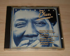 CD album sampler-Essential Blues: Muddy Waters + B.B. King + Howlin 'Wolf +...