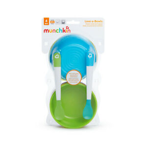 Munchkin Love a Bowls 10 Pieces Weaning Baby Feeding Bowls Food Storage
