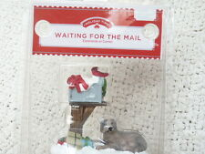 """""""Waiting For The Mail""""  Victorian Christmas Village Figurine by Holiday Time"""