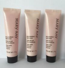 Mary Kay® Extra Emollient Night Cream Lot of 3 Travel/Sample Size New