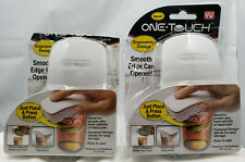 One Touch Automatic Can Opener 2 Pack Ergonomic Design Smooth Edge Onetouch New