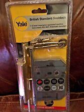 Yale Locks PM560PB80 PM560 Hi-Security BS 5 Lever Mortice Sashlock Polish Brass
