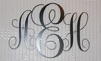 "Personalized Monogram  22"" wide"