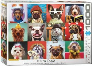 Funny Dogs 1000 piece jigsaw puzzle 680mm x 480mm (pz)