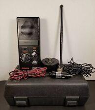 ActionLine WCB10 Emergency 40 Channel CB Radio 2 Way Vintage w/ Case