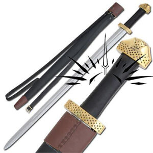 Medieval 9th Century Handmade Steel Functional Battle Viking Sword Replica