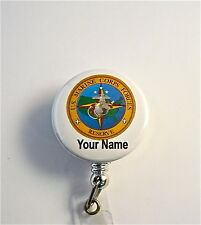 US MARINE CORPS RESERVE ID BADGE RETRACTABLE,MILITARY.NURSE,DR.RN,SERVICE,TECH,