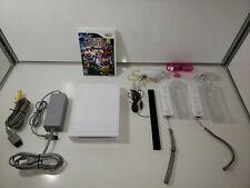 New listing Nintendo Wii White Console Bundle Rvl-101 with Super Smash Bros. Brawl Tested