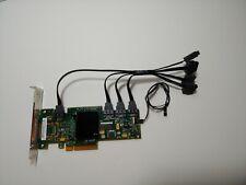 LSI 9212-4i SAS 4-port 6GB PCI-e RAID Controller Card w/cables