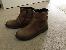 Fly London Brown Ankle Boots Size 6/39