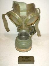 Dutch Vredestein vintage gas mask 1952 with original canvas bag