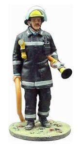 Del Prado 1/32 Firefighter Figure London UK 1985 - BOM120