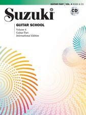 Suzuki Guitar School: Guitar Part Volume 4, Book and CD