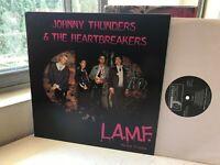 THE HEARTBREAKERS L.A.M.F. LP UK JOHNNY THUNDERS NEW YORK DOLLS jungle '94 '77 &