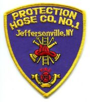 Protection Hose Company Number 1 Fire Department Patch New York NY