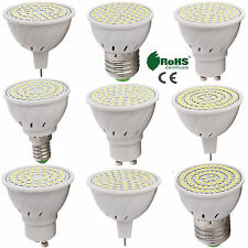 GU10 MR16 E27 DEL Ampoule Spot Lumière 2835 SMD 4W 5W 6W Lampe
