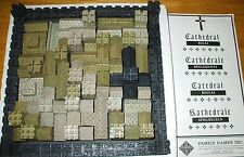 Vintage 1978 CATHEDRAL Mediaeval Game Strategy & Skill POLYSTONE/RESIN COMPLETE!