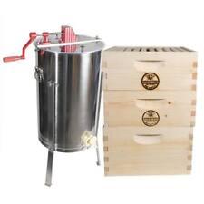GoodLand Bee Supply Gl-2Bk1Sk-Tk5 Beekeeping Complete 3 Tier Beehive Kit