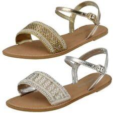 Chaussures plates et ballerines Spot On en cuir pour femme