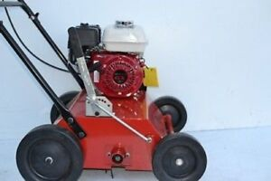 Bulldog Lawn yard dethatcher Power Rake Honda GX160
