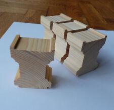handgefertigte Brückenpfeiler für z.B. BRIO, Eichhorn 12er-Set