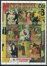 MALAGASY REPUBLIC:1999 S/S MNH PAINTINGS BY HENRY TOULOUSE-LAUTREC