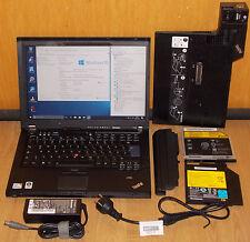 "14,1"" Pc portable Notebook Lenovo Thinkpad T400 2x 2,4GHz 320 GO 4GB Win10"