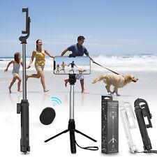 Extendable Selfie Stick Monopod Tripod Wireless Remote Shutter For Cell Phone