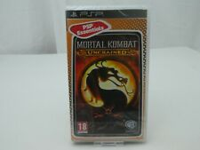 SONY PSP MORTAL KOMBAT UNCHAINED UK PAL GENUINE GAME NEW & SEALED