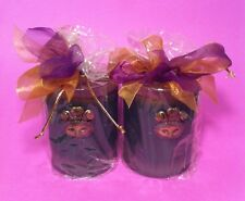 Lux Candles Decorative Scented Luxury Mardi Gras Kings Ball Lot of 2