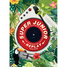 "SUPER JUNIOR - REPLAY "" SPECIAL EDITION"" (CD+BOOKLET+PHOTOCARD) KPOPSTOREinUSA"