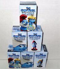 WIZKIDS THE SMURFS TAG-ATHON GAMING FIGURES LOT OF (6) NEW SEALED PACKS