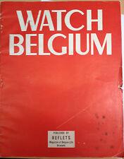 Watch Belgium Magazine published by Reflets