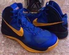 Nike Zoom Hyperfuse 2012 Game Royal/Obsidian-University Gold Shoes Size 13 EUC