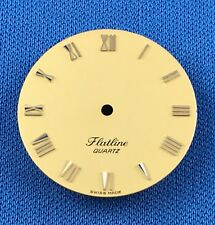 Unbranded -Flatline- Watch Dial Part -Latin Numbers- 25.5mm -Swiss Made- #709