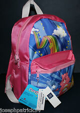 "baby Gap NWT Care Bears PINK 14"" Backpack for School Play Daycare Travel"